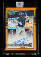 Wander Franco 2020 Donruss Optic Rated Prospects Signatures Orange #1 #22/75 at PristineAuction.com