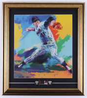 Leroy Neiman Tom Seaver 16.5x18.5 Print With Stats Pin at PristineAuction.com