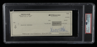 Marcus Allen Signed Hand-Written 1988 Personal Bank Check (PSA Encapsulated) at PristineAuction.com