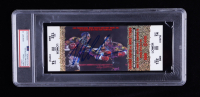 Mike Tyson Signed 2002 Fight Ticket (PSA Encapsulated) at PristineAuction.com