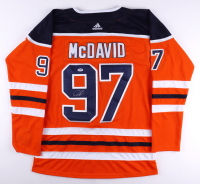 Connor McDavid Signed Oilers Jersey (PSA Hologram) at PristineAuction.com