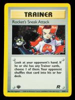 Rocket's Sneak Attack 2000 Pokemon Team Rocket 1st Edition #16 Holo at PristineAuction.com