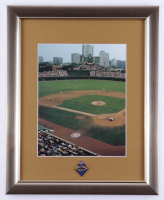 Wrigley Field 13x16 Custom Framed Photo Display (See Description) at PristineAuction.com