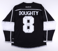 """Drew Doughty Signed Kings Jersey Inscribed """"2x Cup Champions"""" (FSM COA) at PristineAuction.com"""
