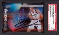 Dirk Nowitzki Signed 2010-11 Absolute Memorabilia Star Gazing Spectrum #11 #8/100 (SGC Encapsulated) at PristineAuction.com