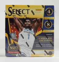 2020-21 Panini Select Basketball Mega Box with (8) Packs at PristineAuction.com