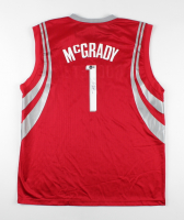 Tracy McGrady Signed Rockets Jersey (Beckett COA) at PristineAuction.com