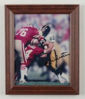 Mike Webster Signed Steelers 10x12 Custom Framed Display (Beckett COA) (See Description) at PristineAuction.com