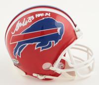 "Andre Reed Signed Bills Mini Helmet Inscribed ""HOF 14"" (Playball Ink Hologram) at PristineAuction.com"