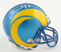Orlando Pace Signed Rams Mini Helmet (Playball Ink Hologram) at PristineAuction.com