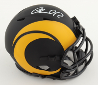 Orlando Pace Signed Rams Eclipse Alternate Speed Mini Helmet (Playball Ink Hologram) at PristineAuction.com