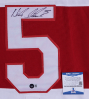 Nicklas Lidstrom Signed Red Wings Jersey (Beckett COA) at PristineAuction.com
