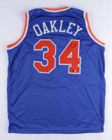 Charles Oakley Signed Jersey (TriStar Hologram) at PristineAuction.com