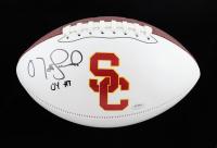 "Matt Leinart Signed USC Trojans Logo Football Inscribed ""04 HT"" (Schwartz Sports COA) (See Description) at PristineAuction.com"