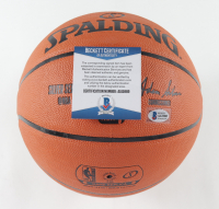 Ja Morant Signed NBA Game Ball Series Basketball (Beckett COA) at PristineAuction.com