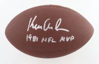 "Ken Anderson Signed NFL Football Inscribed ""1981 NFL MVP"" (Schwartz Sports COA) at PristineAuction.com"