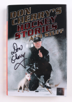 """Don Cherry Signed """"Don Cherry's Hockey Stories and Stuff"""" Hardcover Book (Great North Road COA) at PristineAuction.com"""