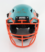 """Mark """"Super"""" Duper Signed Full-Size Authentic On-Field Hydro-Dipped Vengeance Helmet (PSA Hologram) at PristineAuction.com"""