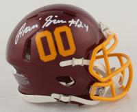 Antonio Gibson Signed Washington Speed Mini Helmet (JSA COA) at PristineAuction.com