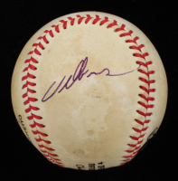 Willie McGee Signed ONL Baseball (Beckett COA) at PristineAuction.com