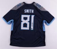 Jonnu Smith Signed Titans Jersey (Beckett COA) (See Description) at PristineAuction.com