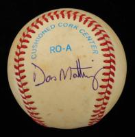 Don Mattingly Signed OAL Baseball (Beckett COA) at PristineAuction.com