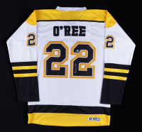 Willie O'Ree Signed Bruins Jersey (Beckett COA) at PristineAuction.com