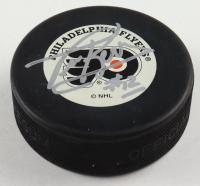 Tim Kerr Signed Flyers Logo Hockey Puck (JSA COA) at PristineAuction.com