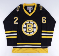 Mike Milbury Signed Bruins Jersey (Beckett COA) (See Description) at PristineAuction.com