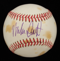 Mike Scott Signed ONL Baseball (Beckett COA) at PristineAuction.com