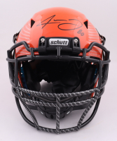 Jarvis Landry Signed Full-Size Authentic On-Field Hydro Dipped Vengeance Helmet (Beckett Hologram) at PristineAuction.com