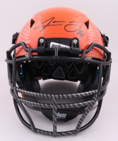 Jarvis Landry Signed Full-Size Authentic On-Field Hydro Dipped Vengeance Helmet (Beckett Hologram) (See Description) at PristineAuction.com