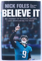 """Nick Foles Signed """"Believe It"""" Hardcover Book (Beckett COA) (See Description) at PristineAuction.com"""