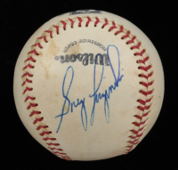 Greg Luzinski Signed Official Baseball (Beckett COA) (See Description) at PristineAuction.com