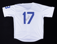 Carl Erskine Twice-Signed Jersey (Beckett COA) (See Description) at PristineAuction.com