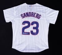Ryne Sandberg Signed Cubs Jersey (Beckett COA) (See Description) at PristineAuction.com