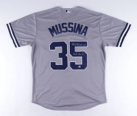 """Mike Mussina Signed Yankees Jersey Inscribed """"HOF 2019"""" (Beckett COA) at PristineAuction.com"""