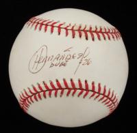 Orlando Hernandez Signed OAL Baseball (Beckett COA) at PristineAuction.com