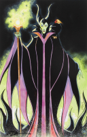 """Tom Hodges - Maleficent - Disney - Signed 11"""" x 17"""" Lithograph LE #/10 (PA COA) at PristineAuction.com"""