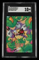 Michael Jordan 1993 Nike/Warner #10 The Scream Team (SGC 10) at PristineAuction.com