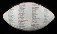"Chuck Bednarik & Tommy McDonald Signed Hall of Fame Enshrinees Football Inscribed ""HOF 67"" & ""HOF 98"" (JSA COA) (See Description) at PristineAuction.com"