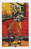 """Tom Hodges - Hera Syndulla - """"Star Wars"""" - Signed 11"""" x 17"""" Lithograph LE #/25 (PA COA) at PristineAuction.com"""