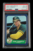 Jose Canseco 1986 Fleer Update #20 (PSA 10) at PristineAuction.com
