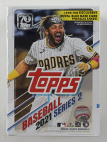 2021 Topps Baseball Series 2 Blaster Box with (99) Cards at PristineAuction.com