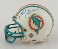 Bob Griese Signed Dolphins Mini Helmet (JSA COA) at PristineAuction.com