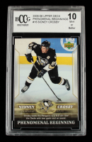 Sidney Crosby 2005-06 Upper Deck Phenomenal Beginnings #16 (BCCG 10) at PristineAuction.com