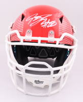Jeremy Shockey Signed Full-Size Authentic On-Field Hydro Dipped Vengeance Helmet (Beckett COA) at PristineAuction.com