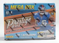 2021 Panini NFL Prestige Football Trading Card Mega Box with (4) Packs (See Description) at PristineAuction.com