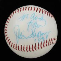 Jim Thompson Signed Cubs Logo Baseball (Beckett COA) at PristineAuction.com