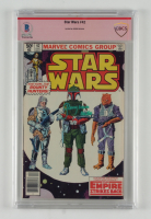 """Jeremy Bulloch Signed Star Wars #42 Marvel Comic Book Inscribed """"Boba"""" (BGS Encapsulated) at PristineAuction.com"""